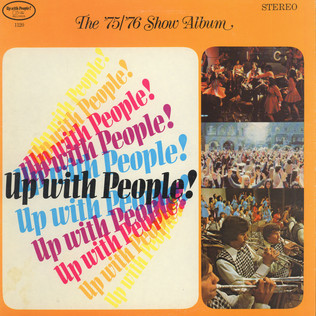 UP WITH PEOPLE - The '75/'76 Show Album - LP