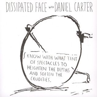 DISSIPATED FACE WITH DANIEL CARTER - Live At CBGB 1986 - 7inch x 1