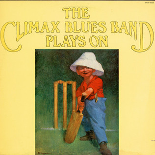 CLIMAX BLUES BAND - Plays On - LP