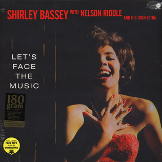 SHIRLEY BASSEY - Let's Face The Music - LP
