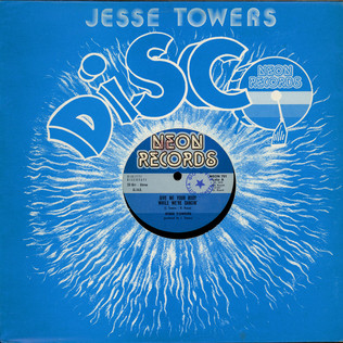JESSE TOWERS - Give Me Your Body While We're Dancin' - 12 inch x 1