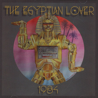 EGYPTIAN LOVER - 1984 - CD