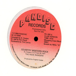 ROCK RANGERS, THE, - Country Western Rock - 12 inch x 1