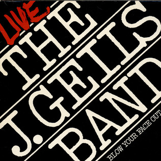 J. GEILS BAND, THE - Live - Blow Your Face Out - LP x 2