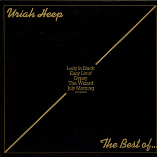 URIAH HEEP - The Best Of... - 33T