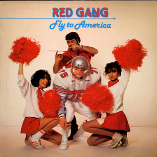 RED GANG - Fly To America - 12 inch x 1