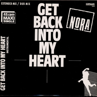 NORA SERAFINO - Get Back Into My Heart - 12 inch x 1