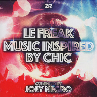 JOEY NEGRO - Le Freak: Music Inspired by Chic - CD