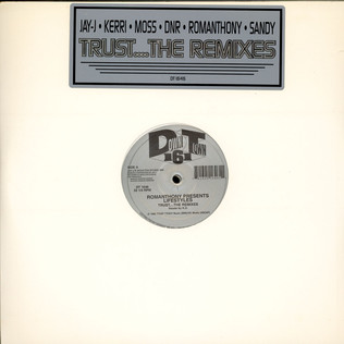 ROMANTHONY PRESENTS LIFESTYLES - Trust....The Remixes - 12 inch x 2