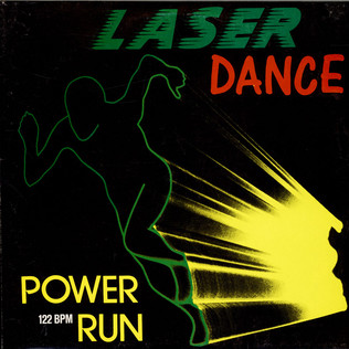 LASERDANCE - Power Run - 12 inch x 1