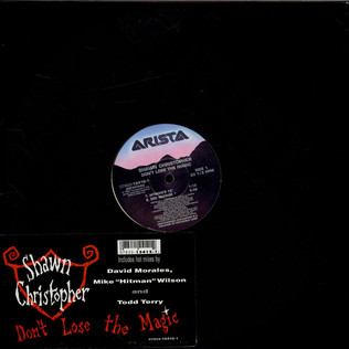 SHAWN CHRISTOPHER - Don't Lose The Magic - 12 inch x 1