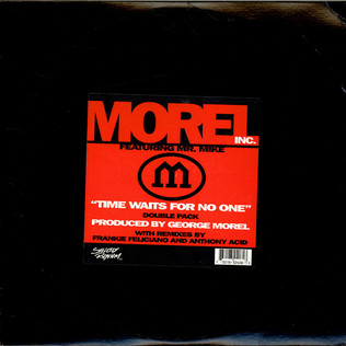 MOREL INC. - Time Waits For No One - 12 inch x 2