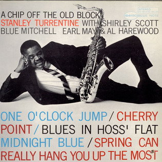 STANLEY TURRENTINE - A Chip Off The Old Block - LP