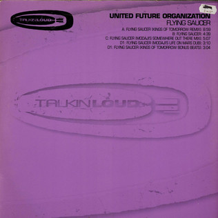UNITED FUTURE ORGANIZATION - Flying Saucer - 12 inch x 2
