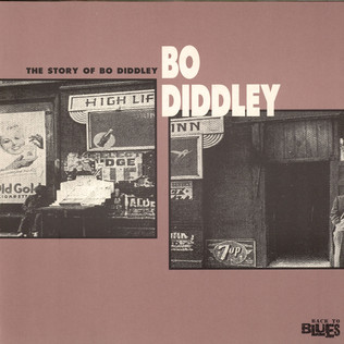 BO DIDDLEY - The Story Of Bo Diddley - LP