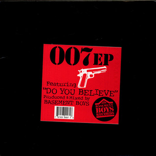 007 - Do You Believe EP - 12 inch x 1