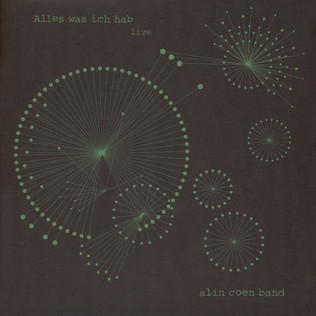 ALIN COEN BAND - Alles Was Ich Hab Live - 33T x 2