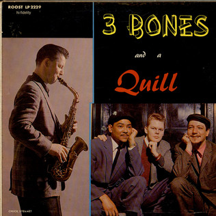 GENE QUILL - 3 Bones And A Quill - LP
