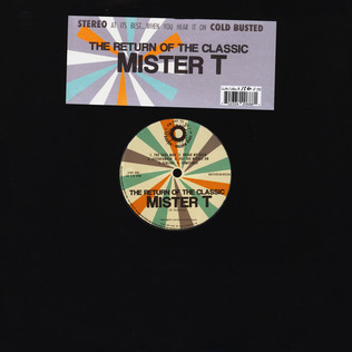 MISTER T - The Return Of The Classic - 33T