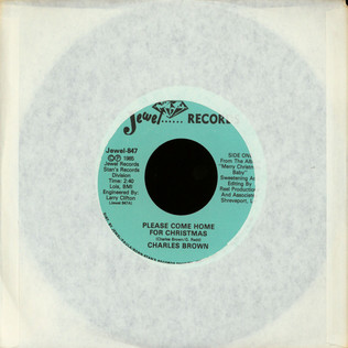 CHARLES BROWN - Please Come Home For Christmas - 7inch x 1