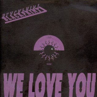 BLACKPRINT - We Love You - 7inch x 1