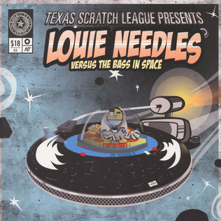TEXAS SCRATCH LEAGUE - Louis Needles / A State of Compilation - 25 cm x 2