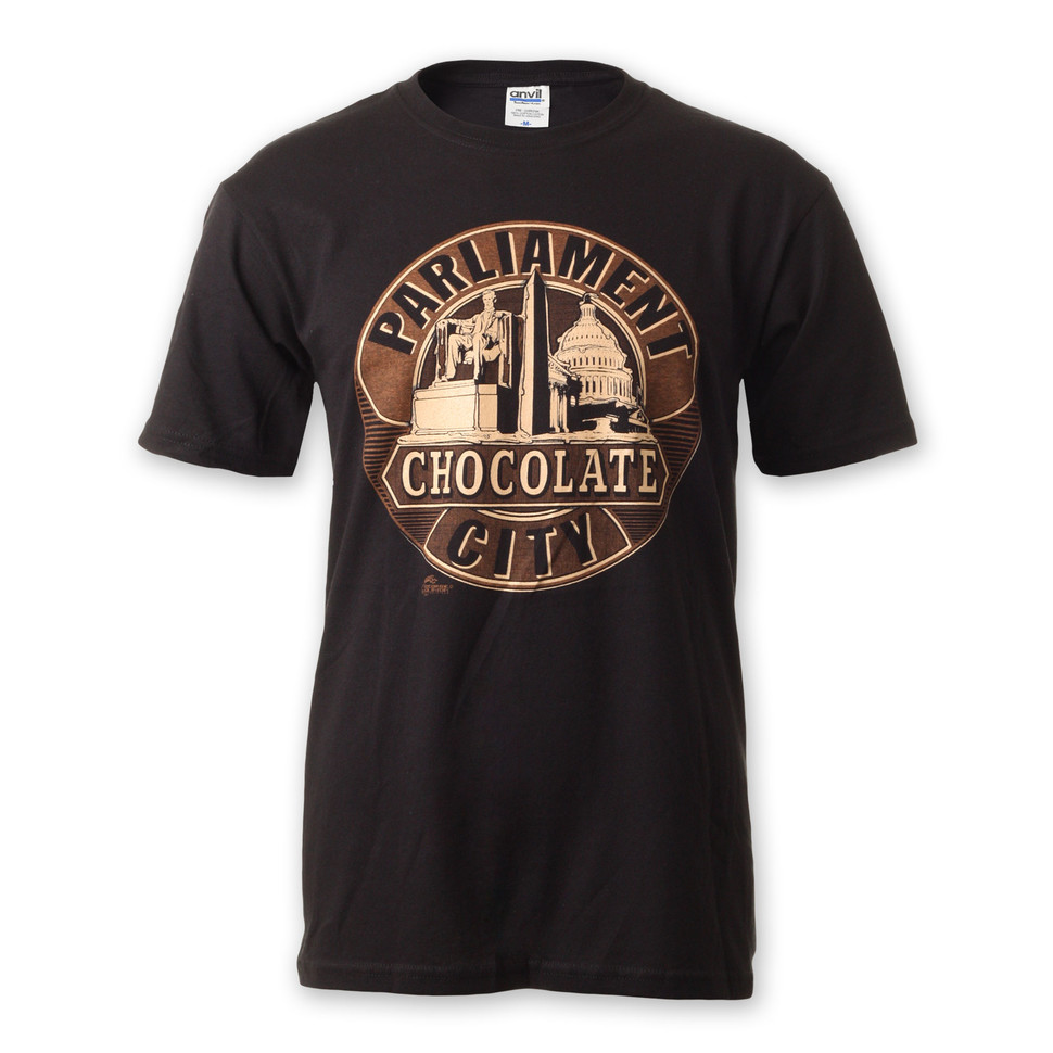 Parliament Chocolate City T Shirt Black Hhv De
