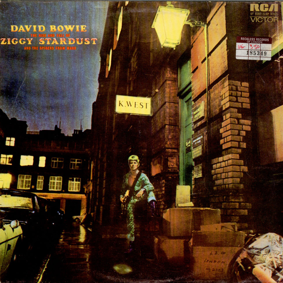 David bowie - the rise and fall of ziggy stardust and