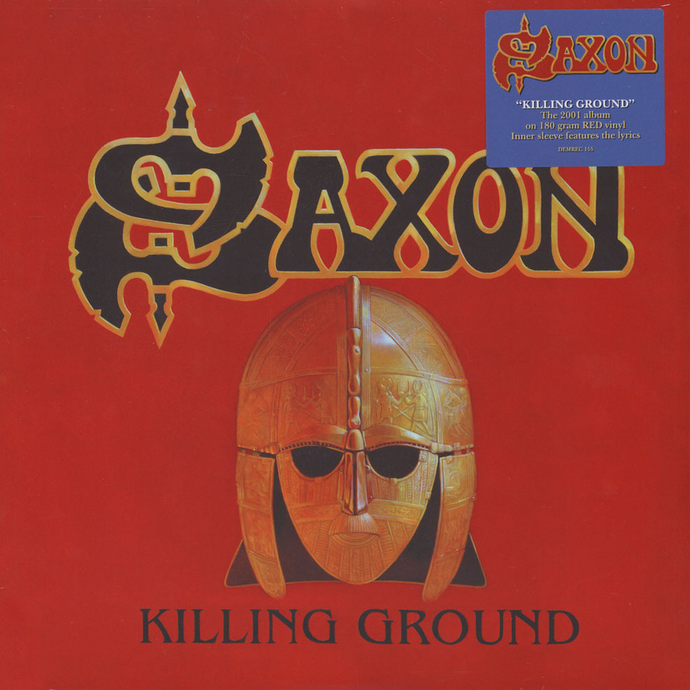 Saxon Killing Ground Vinyl Lp 2001 Uk Reissue