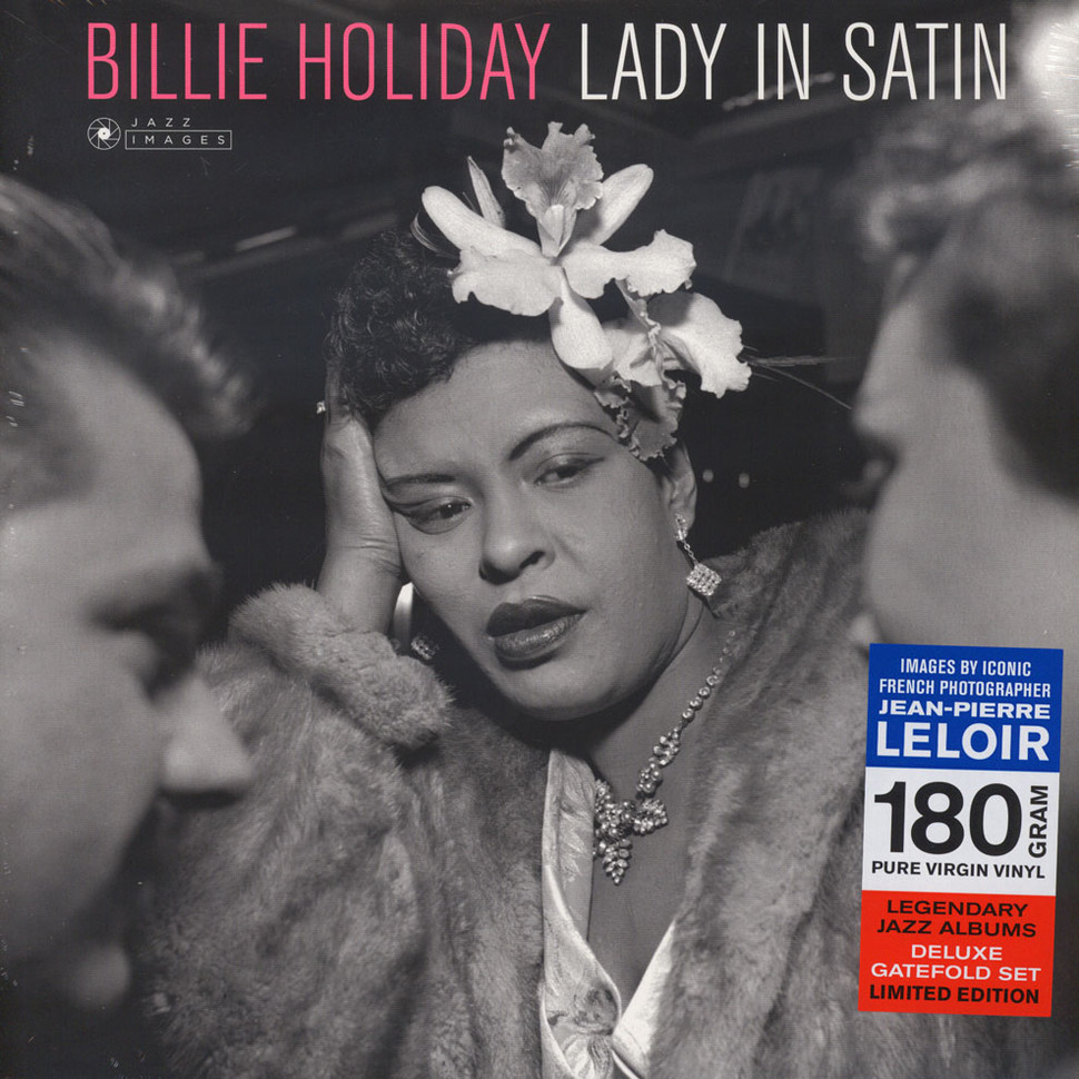 Billie Holiday - Lady In Satin - Jean-Pierre (Vinyl LP - 2016 - EU - Original)