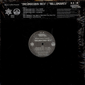 MOOD / TALIB KWELI & RUBIX - Unconscious MC's / Millionaires - 12 inch x 1