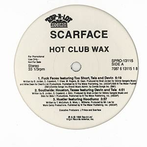SCARFACE - Hot club wax - Maxi x 1