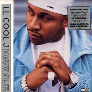 Ll Cool J G.O.A.T+Featuring+James+T.+Smith+The+Greatest+Of+All+Time LP