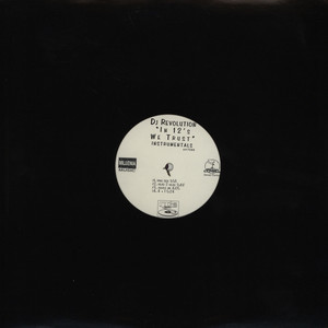 DJ REVOLUTION - In 12's we trust instrumentals - 33T x 2