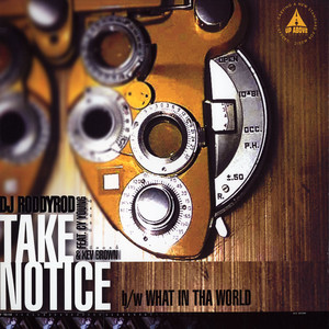 DJ RODDY ROD OF MASPYKE - Take Notice Feat. Cy Young & Kev Brown - Maxi x 1
