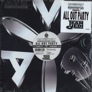 DJ KURUPT - All out party - 12 inch x 1