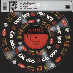 ARETHA FRANKLIN - Rock steady - Maxi x 1