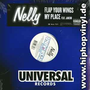 Nelly Flap Your Wings / My Place Feat. Jaheim 12''