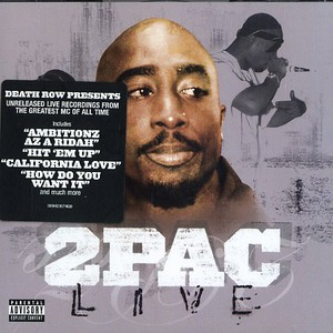 2pac Live CD