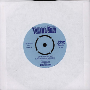 LEE FIELDS - Do You Love Me - 7inch x 1