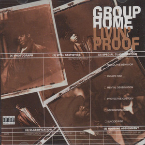 GROUP HOME - Livin Proof - CD