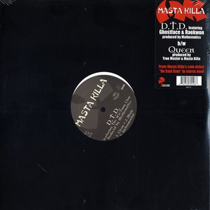 MASTA KILLA - D.t.d. feat. Ghostface & Raekwon - Maxi x 1