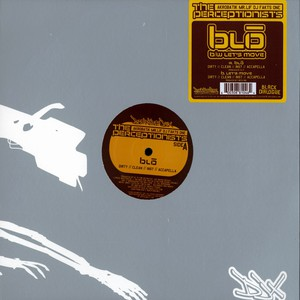 PERCEPTIONISTS (MR.LIF, AKROBATIK & FAKTS ONE) - Blo - Maxi x 1