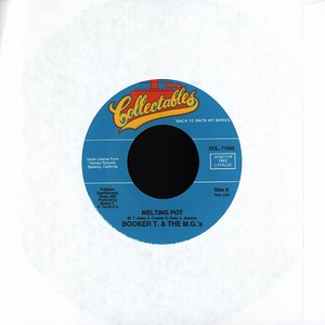 BOOKER T. & THE M.G.'S - Melting pot - 7inch x 1