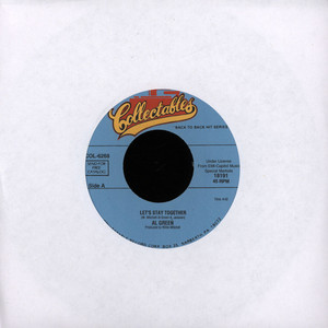 AL GREEN - Let's stay together - 7inch x 1