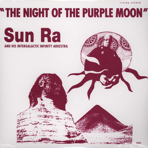 SUN RA - The night of the purple moon - LP