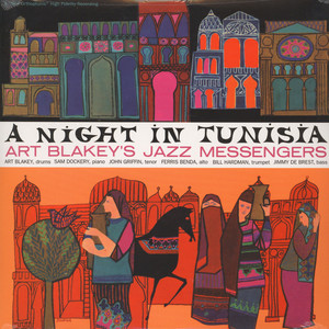 ART BLAKEY AND THE JAZZ MESSENGERS - A night in Tunisia - LP