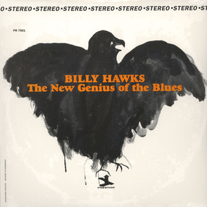 BILLY HAWKS - The new genius of the blues - LP