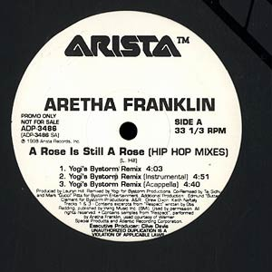 ARETHA FRANKLIN - A rose is still a rose hip hop mixes - Maxi x 1