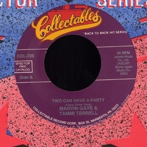 MARVIN GAYE & TAMMI TERRELL - Two can have a party - 7inch x 1
